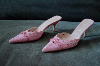 Prada Pink Mules 2