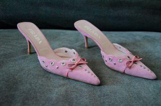 Prada Pink Mules 3