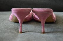 Prada Pink Mules 7