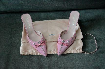Prada Pink Mules 9